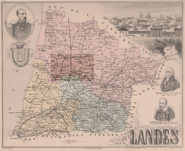Le département des Landes au Second Empire